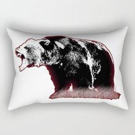 Defensive Bear Rectangular Pillow