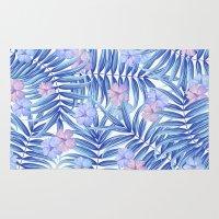 hawaiian Area & Throw Rugs featuring Hawaiian Pattern by Marta Olga Klara