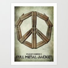 Full Metal Jacket Art Print