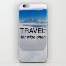 Himala-YEAH! (Travel far quote) iPhone Skin