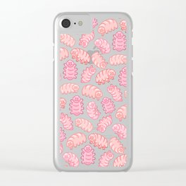 Squishy Tardigrades Clear iPhone Case
