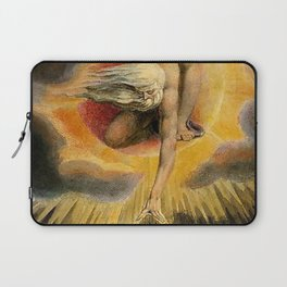 The Ancient Of Days Painting William Blake Laptop Sleeve