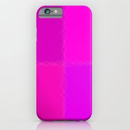 QUARTERS #1 (Purples, Magentas & Fuchsias) iPhone Case