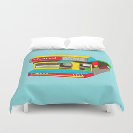 Captures Great Moments (color toy) Duvet Cover