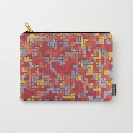 Lava Blocks Carry-All Pouch