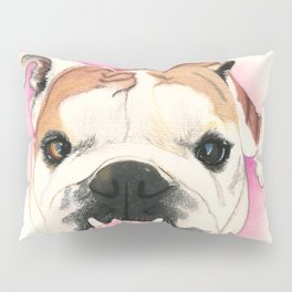 English Bulldog - F.I.P. - @LucyFarted Pillow Sham