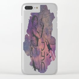 Galactic-Jyn Clear iPhone Case