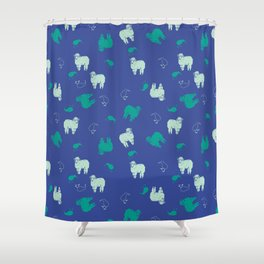 Dreaming Of New Zealand Shower Curtain