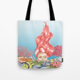 Living Coral Reef Tote Bag