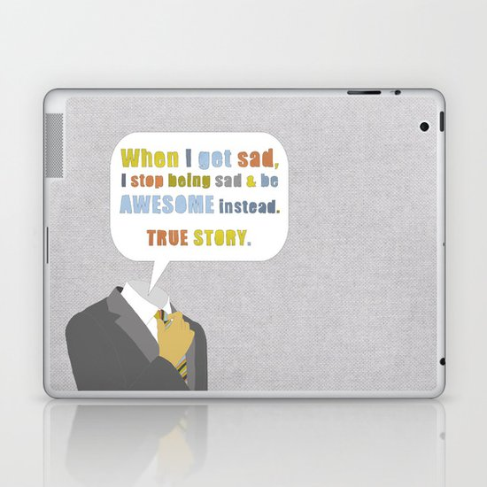 LEGEN____waitforit____DARY Laptop & iPad Skin