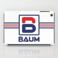 tenenbaum iPad Cases featuring Richie 'Baum' Tenenbaum T-Shirt by Tabner's