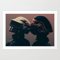 We are the Robots - (DAFT PUNK SERIES) Art Print