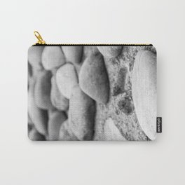 Black and White Stones Carry-All Pouch