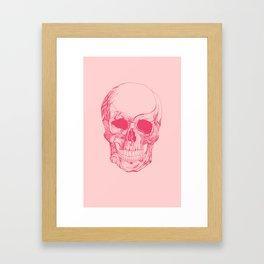 Mr. Skull Framed Art Print