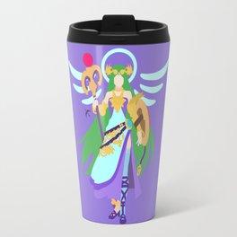 PALUTENA(SMASH)CONCEPT BLUE Travel Mug
