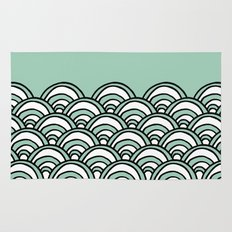 Waves Mint Rug