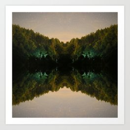 Perfect Reflection Art Print