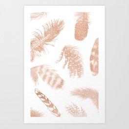 Feathery Art Print