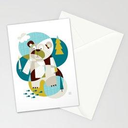 Bear Beware Stationery Cards