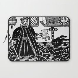 The Devil in Britain and America Laptop Sleeve