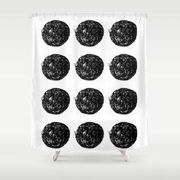 Cat Donut Shower Curtain