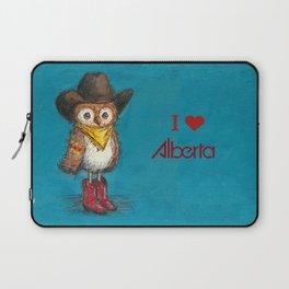 Cowboy Owl Laptop Sleeve