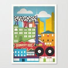 Touristique - Toronto Canvas Print