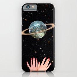 Saturn Disco iPhone Case
