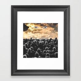 Empty Lines Framed Art Print