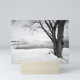Winter Shore Mini Art Print