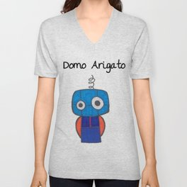 Domo Arigato Mr. Roboto Unisex V-Neck