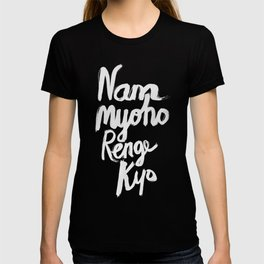 Nam Myoho Renge Kyo - Light on Dark T-shirt