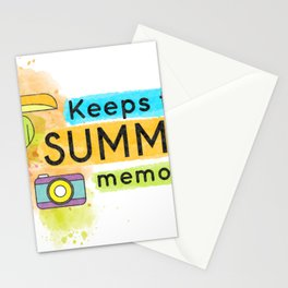 Keep the Summer Memories Stationery Cards