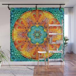 Mandalas from the Depth of Love 17 Wall Mural