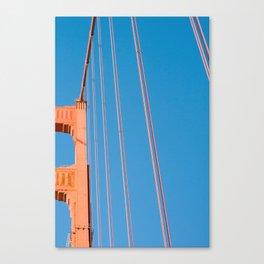 that sf bridge Canvas Print