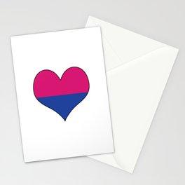 Gender Binary Heart Stationery Cards
