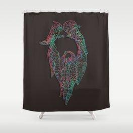 Mountain King Shower Curtain