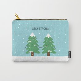 love keeps us strong Carry-All Pouch