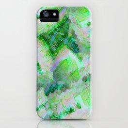 Green Gemstone iPhone Case