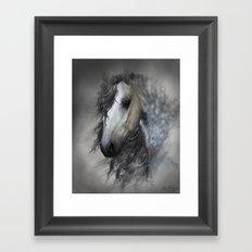 Fantasy horse portrait Framed Art Print