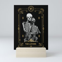 The Lovers VI Tarot Card Mini Art Print