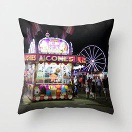 Cone Fair Throw Pillow