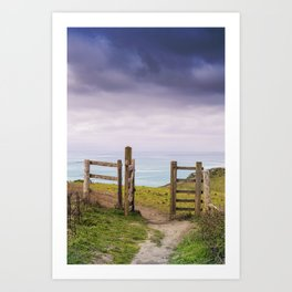 Gateway to the Coast Art Print