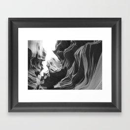 ANTELOPE CANYON XXVIII Framed Art Print