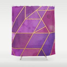 Shattered Tourmaline 2 Shower Curtain
