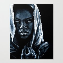 African Canvas Print