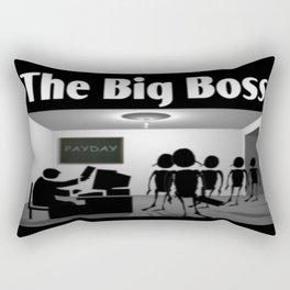 The Big Boss Rectangular Pillow