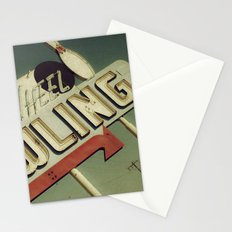 Wagon Wheel Bowling Stationery Cards