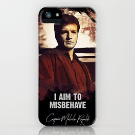 Captain Malcolm Reynolds - FIREFLY iPhone Case
