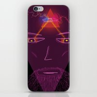 wizard iPhone & iPod Skins featuring Wizard by Spooky Dooky